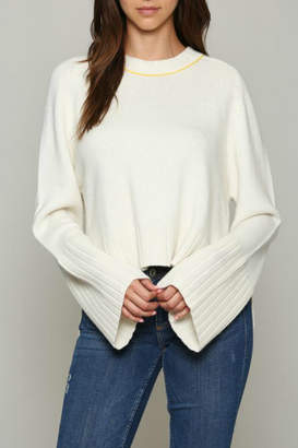 Fate Pullover sweater with Bell sleeve