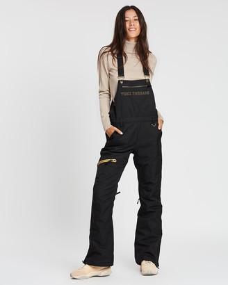 Yuki Threads - Women's Black Pants - Brooklyn Bib and Brace - Size One Size, S at The Iconic