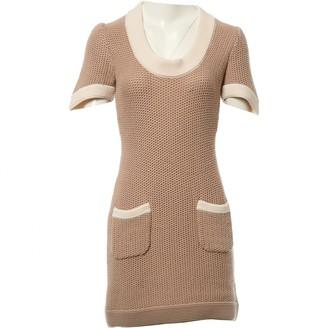 Fendi Beige Wool Dresses