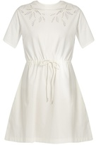 See by Chloe Cotton-jersey dress