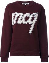 McQ by Alexander McQueen carpet logo sweatshirt