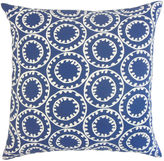One Kings Lane Gaerwn Indoor/Outdoor 20x20 Pillow, Blue
