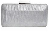 Sondra Roberts Striped Box Clutch