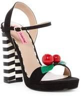 Betsey Johnson Izzie Ankle Strap Platform Sandal
