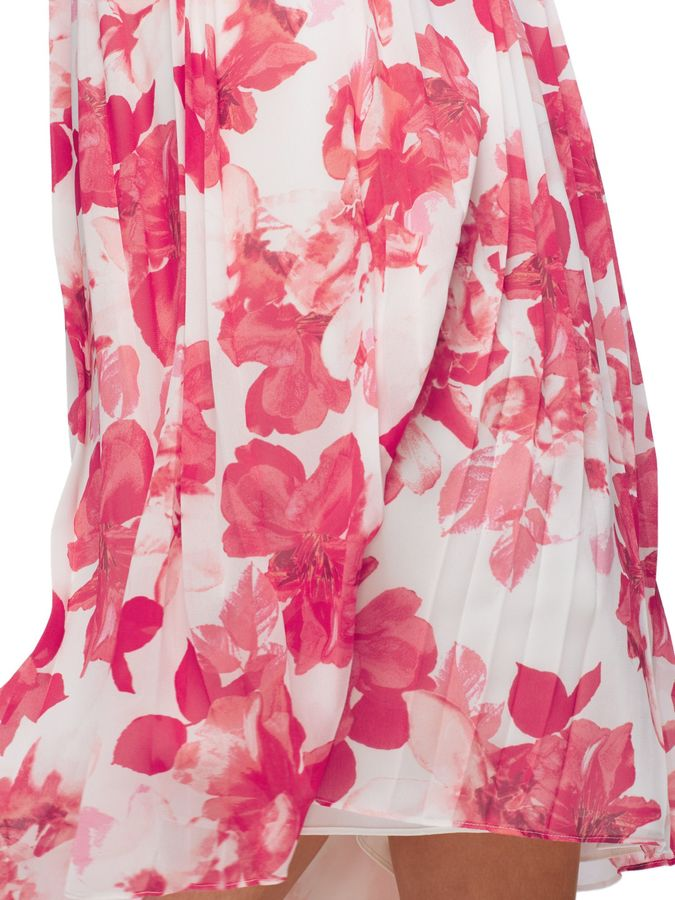 Jacques Vert Hibiscus Printed Skirt