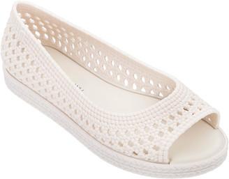 Melissa Shoes Jason Wu Woven Peep-Toe Sandals