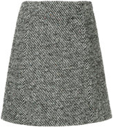 TOMORROWLAND pattern knit mini skirt