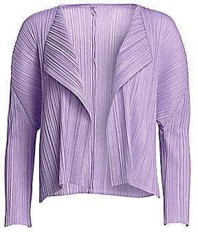 Pleats Please Issey Miyake Women's Mellow Pleats Jacket