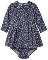 Ralph Lauren Floral Twill Dress & Bloomer
