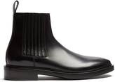 Balenciaga Leather chelsea boots