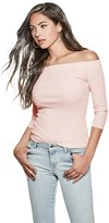 GUESS Gibson Off-the-Shoulder Top