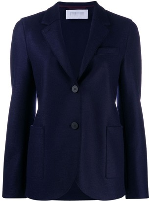Harris Wharf London Fitted Button Jacket