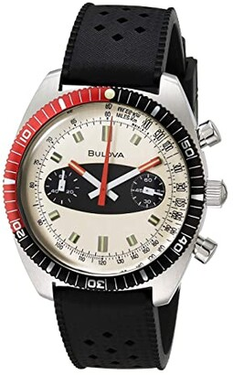 Bulova Archive Series: Surfboard Chronograph A - 98A252 (Black) Watches
