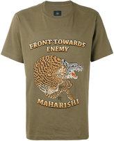 MHI Crouching Tiger T-shirt - men - Cotton - M