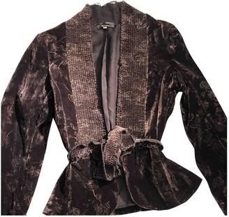 Atelier Stills Brown Velvet Jacket for Women