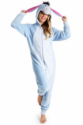Disney Eeyore Onesie for Ladies (L) Blue