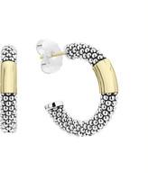 Lagos High Bar Hoop Earrings, 27mm