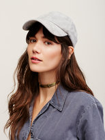 Free People Williamsburg Faux Suede Baseball Hat