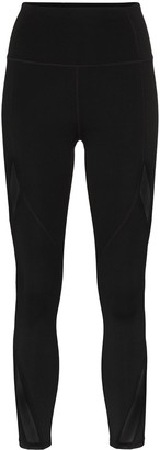 Nimble Activewear mesh panel performance leggings