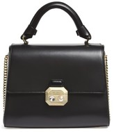 Ted Baker Leather Top Handle Satchel - Black