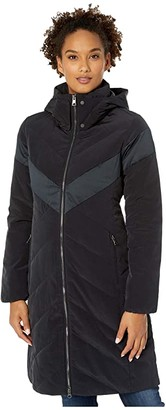 Obermeyer Dehlia Down Parka (Black) Women's Clothing