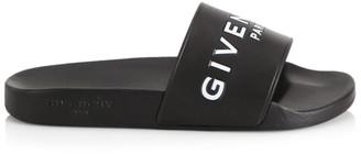 Givenchy Logo Pool Slides