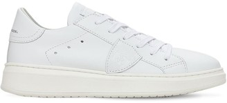 Philippe Model Temple Leather Lace-Up Sneakers