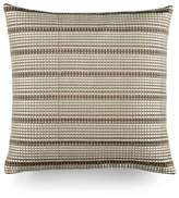 "Hotel Collection Modern Geo Stripe 18"" Square Decorative Pillow"