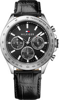 Tommy Hilfiger 1791224 Hudson croc-effect leather watch
