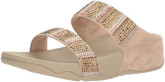 FitFlop Women's Flare Strobe Slide Sandals