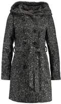 Anna Field Classic coat black/white