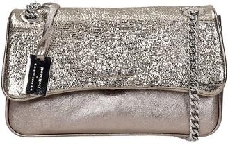 Marc Ellis Brodway M Shoulder Bag In Gold Leather