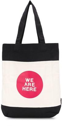 Molo Slogan Print Tote Bag