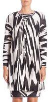 Missoni Long Zebra-Print Cardigan