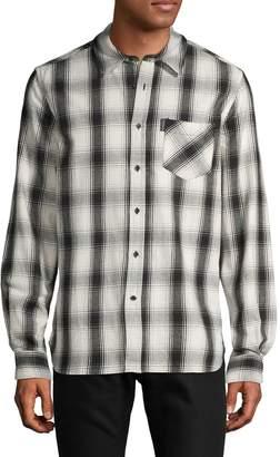 Ovadia & Sons Max Cotton Plaid Shirt