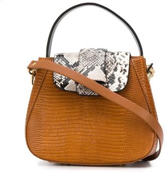 Nico Giani Myria embossed shoulder bag