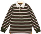 E-Land Kids Walnut Rugby-Stripe Polo - Toddler & Boys