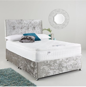 Silentnight Luxe Collection By Francesca 1000 PillowtopDivan Bed with Storage Options (includes Headboard!)