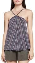 BCBGeneration Striped Halter-Style Camisole