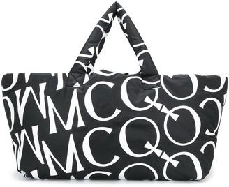 McQ Oversized Logo Padded Tote