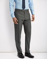 Jaeger Wool Sharkskin Modern Trousers