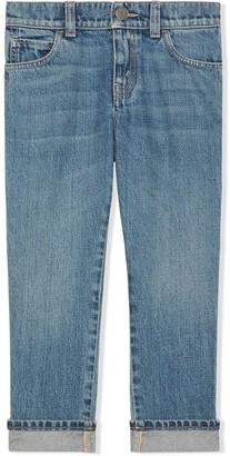 Gucci Kids Straight Fit Denim Jeans
