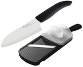 "Kyocera 5.5"" Santoku Knife and Adjustable Slicer Set"