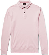 Giorgio Armani - Slim-fit Cotton-jersey Polo Shirt