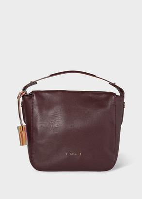 Paul Smith Women's Burgundy Mini Westbourne Leather Handbag