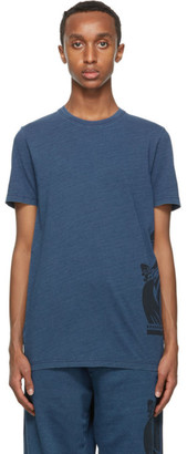 Lanvin Navy Mother and Child T-Shirt