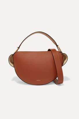Wandler Yara Leather Shoulder Bag - Tan