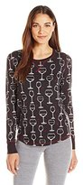 PJ Salvage Women's Wine Is My Valentine Sleep Shirt