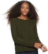 So Juniors' SO Matte Chenille Pullover Sweater