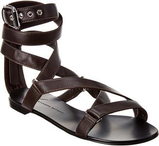 Giuseppe Zanotti Strappy Leather Sandal